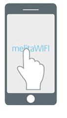 Melita SSID Screen